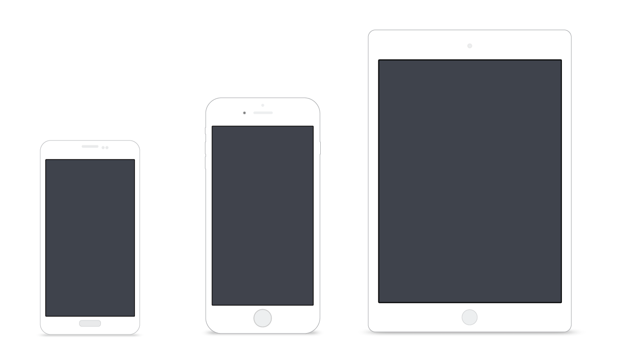iPhone, iPad and Android Apps